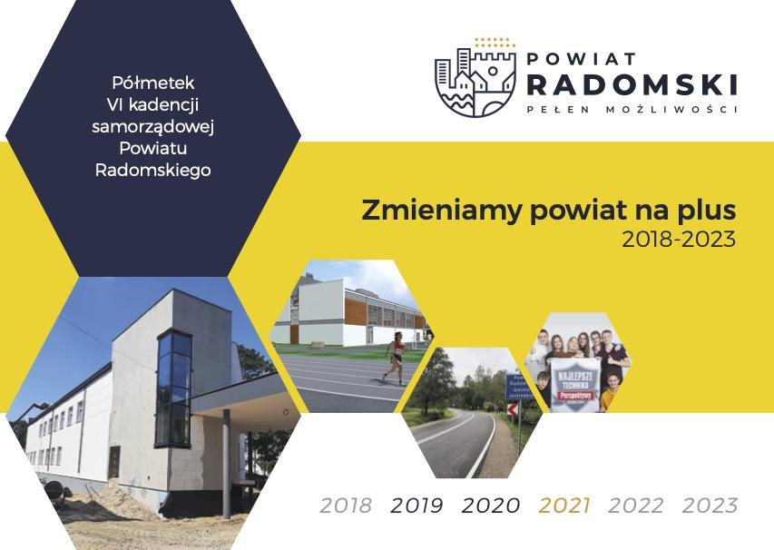 Zmieniamy powiat na plus 2018 - 2023. Okładka